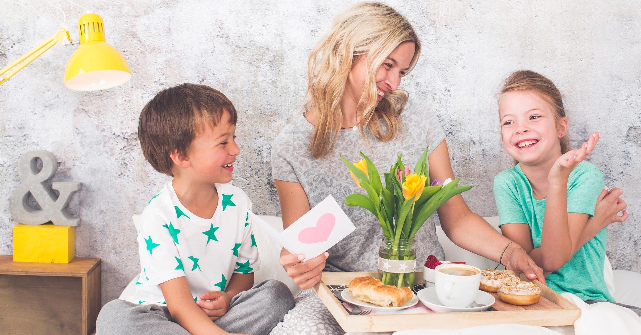Äitienpäiväksi itse tehdyt lahjat!
