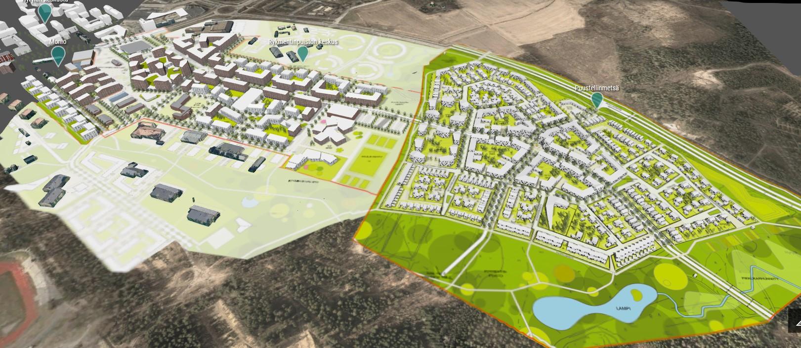 Avara jatkaa rakentamista kasvukeskuksiin - suunnitteluvaraus Tuusulan Rykmentinpuistoon